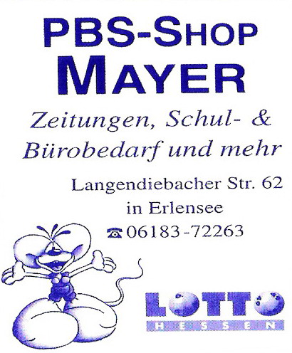 PBS Shop Mayer
